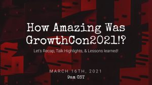 Post GrowthCon