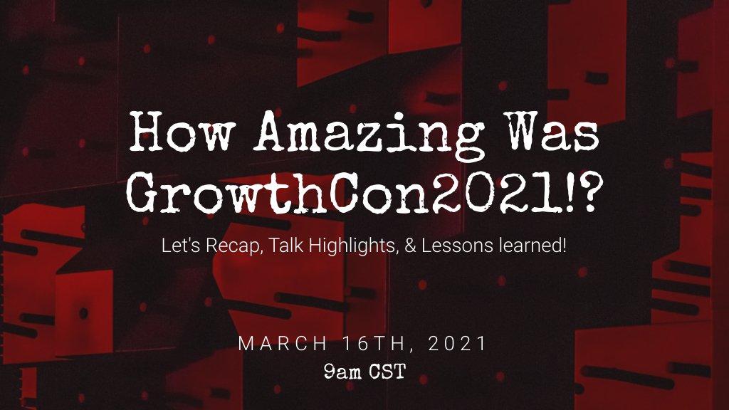 GrowthCon2021