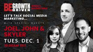 Let's Talk Social Media - Joel Buhr, John Payne & Skyler Schreck