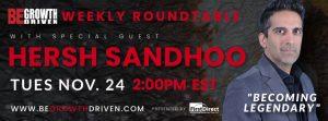 Hersh Sandhoo - Becoming Legendary