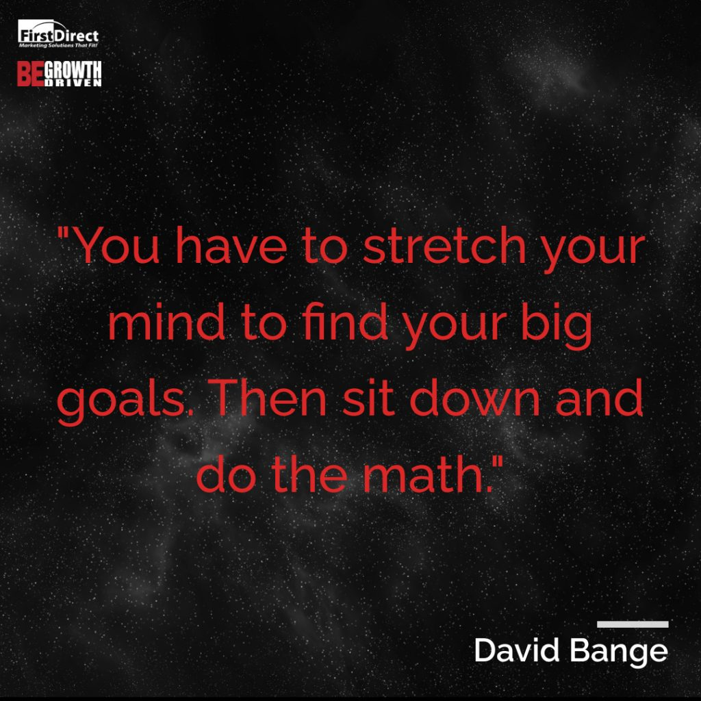 David Bange Pull Quote
